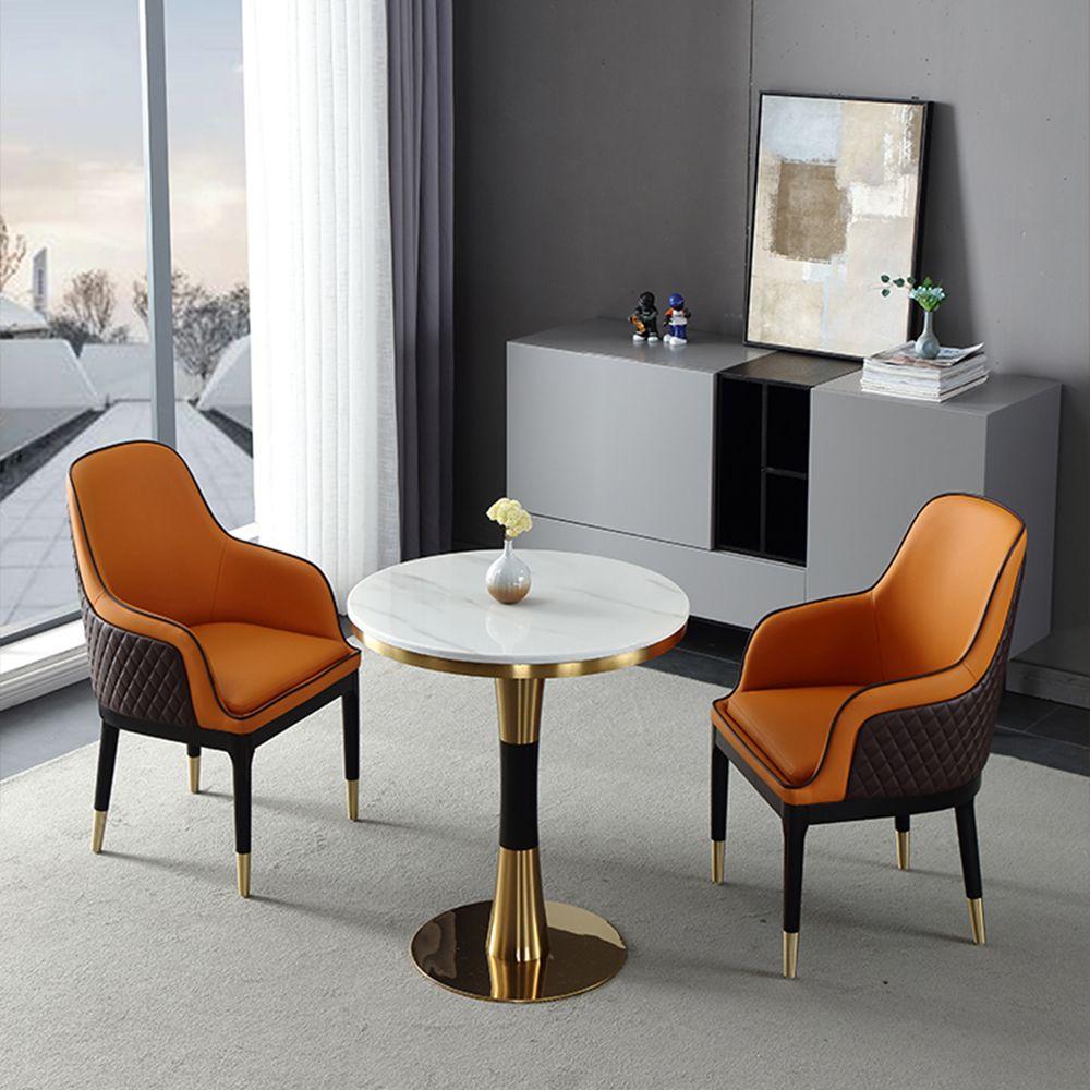 Orange Side Chair