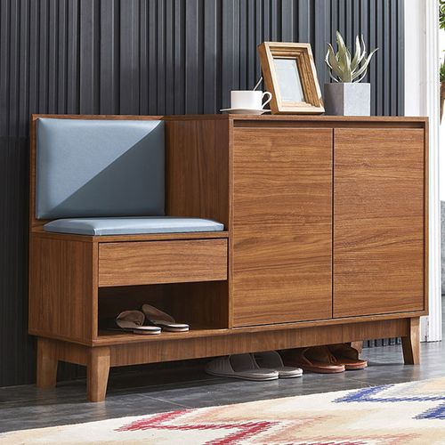 Povison Wood Shoe Cabinet